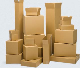 Corrugated Cardboard Boxes and 100% Reycled Boxes